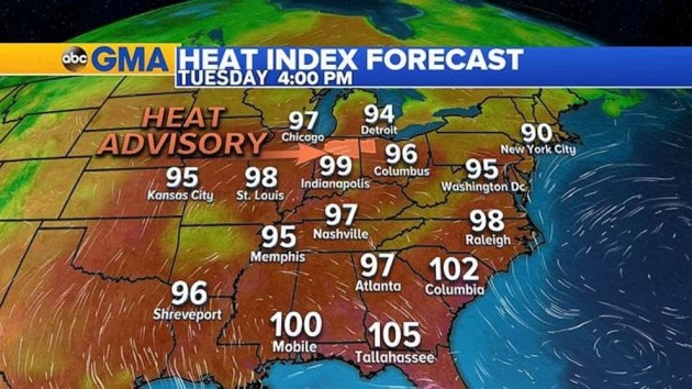 L A  Oldies - Heat wave targeting much of US during July 4 holiday week